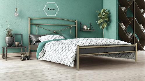 μεταλλικό κρεβάτι για στρώμα 150Χ200 σε πολλά χρώματα.Metal bed for mattress size 150X200