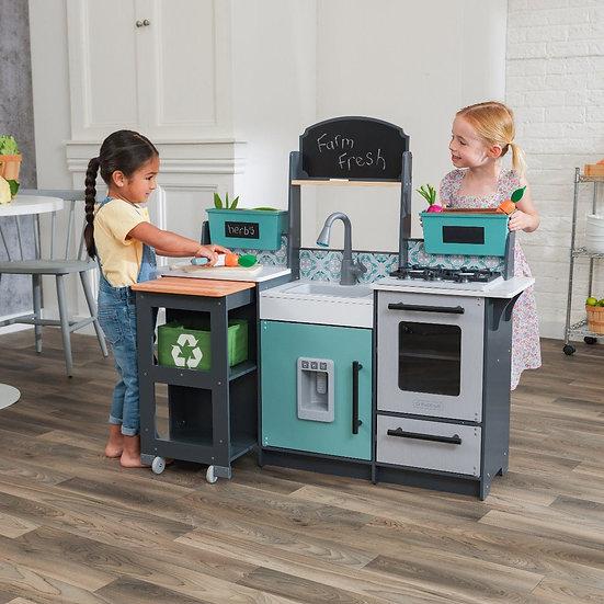 παιδική κουζίνα με ήχους και φως KidKraft