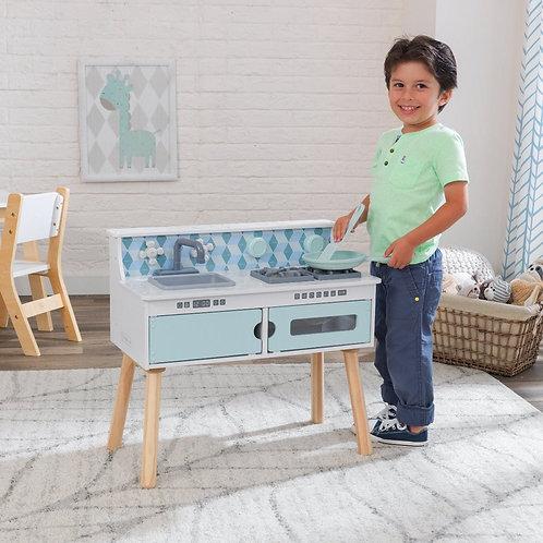 Κουζίνα ξύλινη οικονομική παιδική