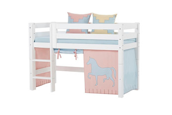 Premium Halfhigh bed κουκέτα μεσαίου ύψους.