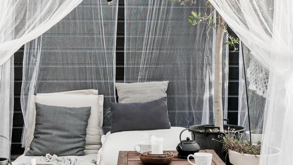 στρώμα πολυθρόνα φουτόν εξωτερικού χώρου για ξενοδοχεία, καφέ, beach bars