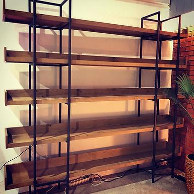 Shelf 1 Ξύλινη Βιβλιοθήκη