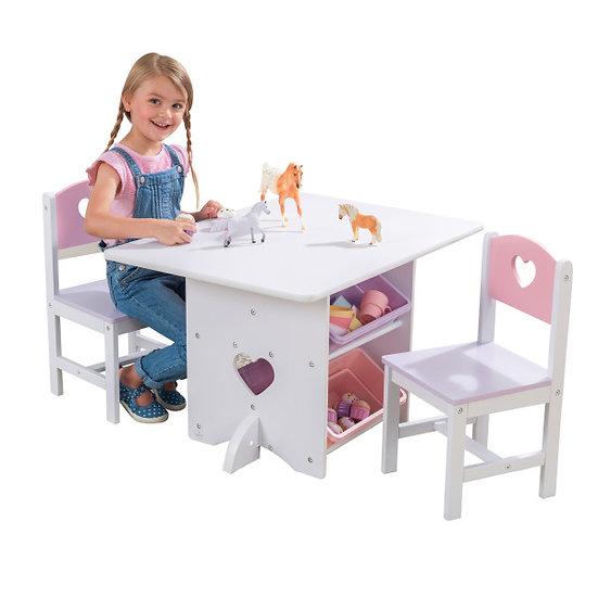 kidkraft τραπεζάκι με 2 καρέκλες σετ
