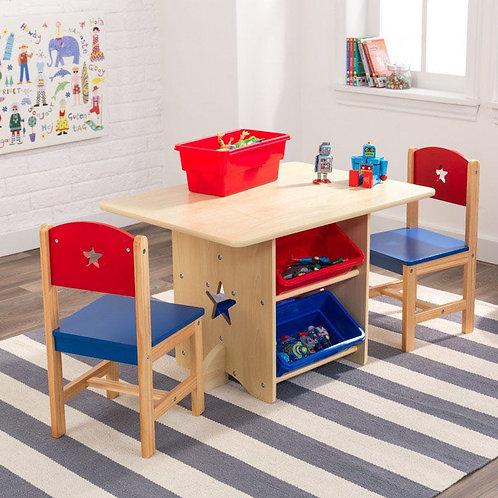 Star table & chair set