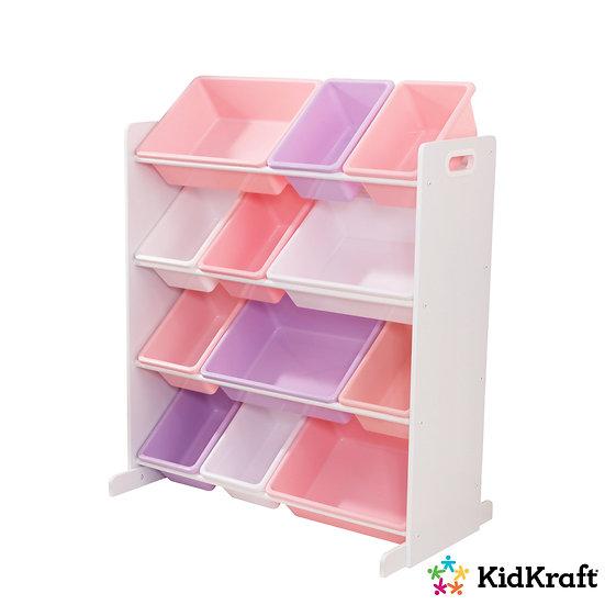 Ράφια-κουτιά για παιδικό δωμάτιο για αποθήκευση παιχνίδιών, βιβλίων κτλ