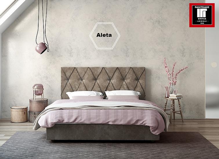 μονό ντυμένο κρεβάτι για στρώμα 90Χ200 σε ποικιλία υφασμάτων