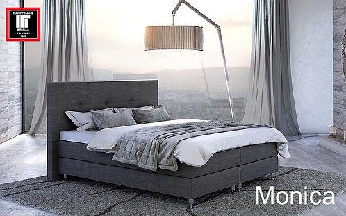 διπλό ντυμένο κρεβάτι σε προσφορά 150Χ200