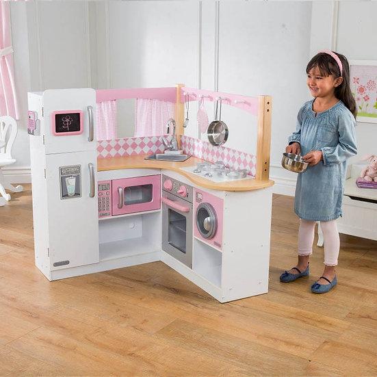 Παιδική κουζίνα ξύλινη