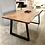 Thumbnail: Patmos 200 / μασίφ τραπέζι με μεταλλικά πόδια
