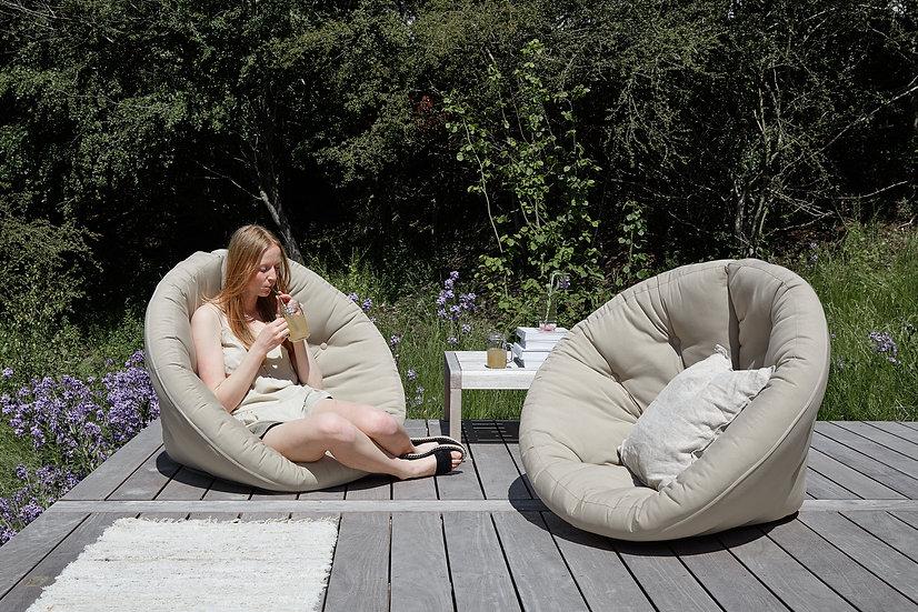 πολυθρόνα futon εξωτερικού χώρου για πισίνα, κήπο, βεράντα, ξενοδοχεία, airbnb