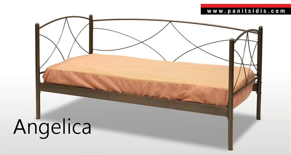 Μεταλλικός καναπές οικονομικός,krevati metalliko me plati kanapes,μεταλλικός καναπές κρεβάτι