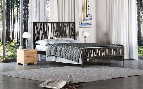 μεταλλικό μασίφ κρεβάτι