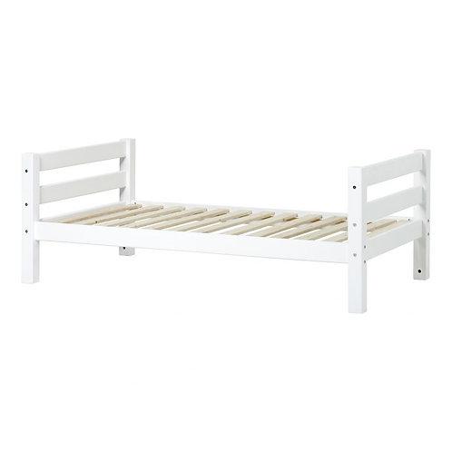 μασίφ μονό κρεβάτι από ξύλο πεύκου παιδικό-εφηβικό