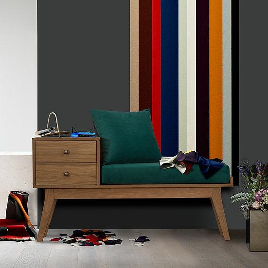 Έπιπλο καθιστικού μασίφ ξύλινο