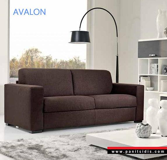 καναπές κρεβάτι με πτυσσόμενο μηχανισμό διπλού κρεβατιού με στρώμα 160 Χ 192, εισαγωγής από Ιταλία