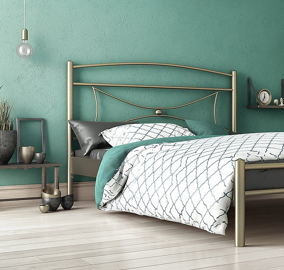 Μεταλλικό κρεβάτι σε πολλά χρώματα και διαστάσεις