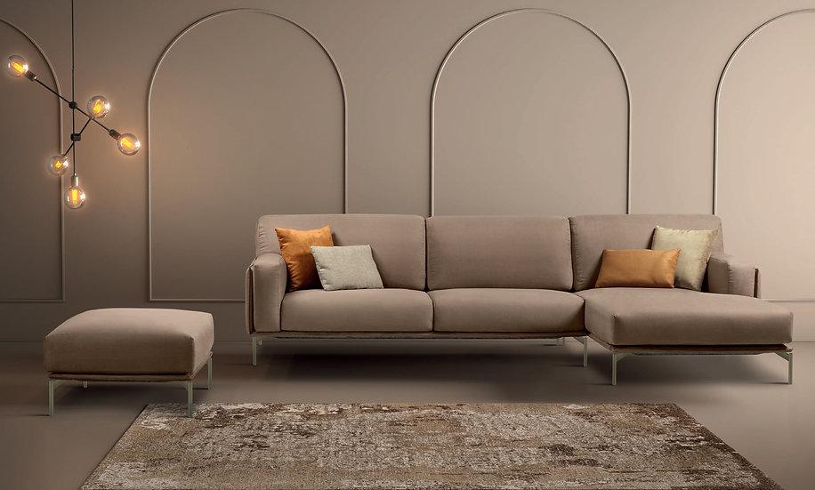 Καναπές γωνία ιταλικός