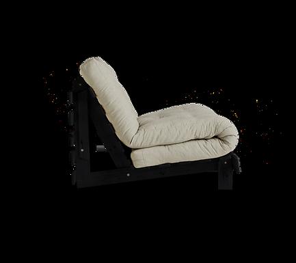 Roots 90 / Black / Πολυθρόνα-Κρεβάτι