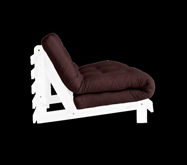 διθέσιος καναπές-κρεβάτι με ανατομικό στρώμα φουτόν 140Χ200, από βαμβάκι