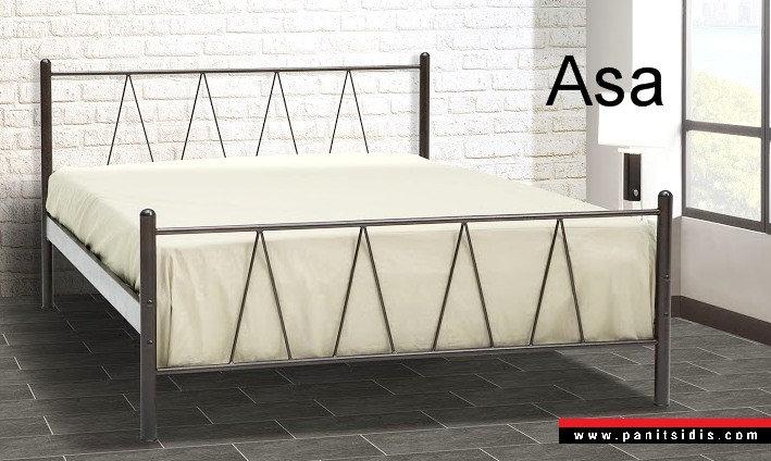 Μεταλλικό κρεβάτι μονό ημίδιπλο διπλό οικονομικό προσφοράς,metal bed for airbnb hotel offer