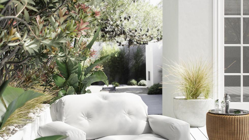 outdoor futon sofa beds έπιπλα εξωτερικού χώρου για ξενοδοχεία, studios, airbnb, beach clubs