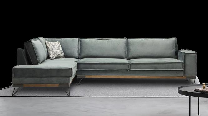 Ελληνικός καναπές σαλονιού-γωνία