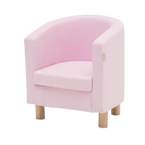 ροζ πολυθρονάκι παιδικό,polithronakia paidika ifasma