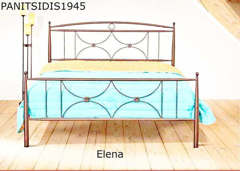 μονό μεταλλικό κρεβάτι 90 Χ 190/200