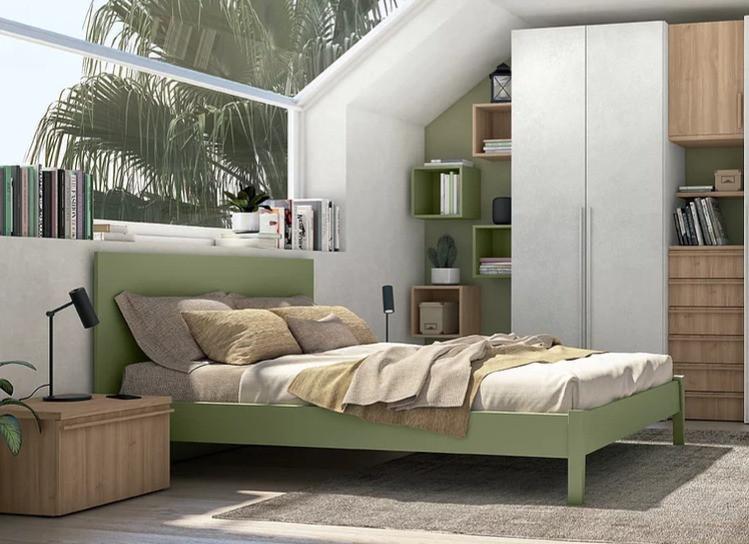 Ιταλικό κρεβάτι σε πολλές διαστάσεις και αποχρώσεις