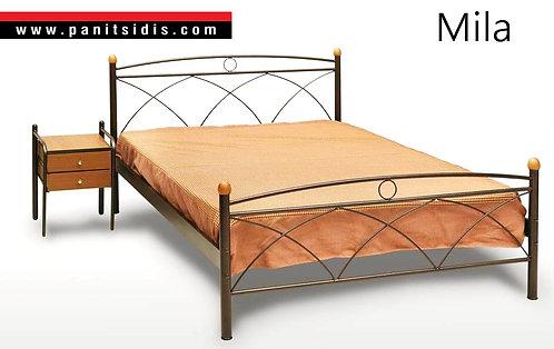 Μεταλλικά κρεβάτια μονά διπλά οικονομικά χειροποίητα