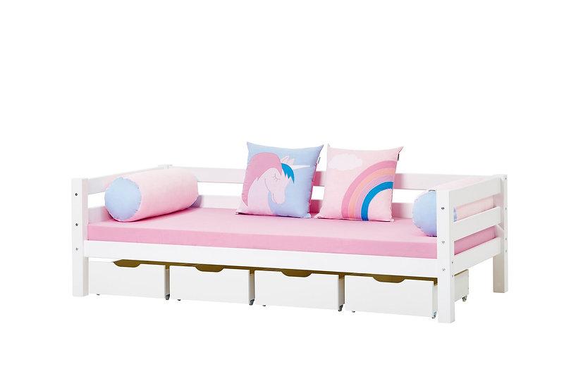 καναπές κρεβάτι με 4 συρτάρια παιδικός νεανικός