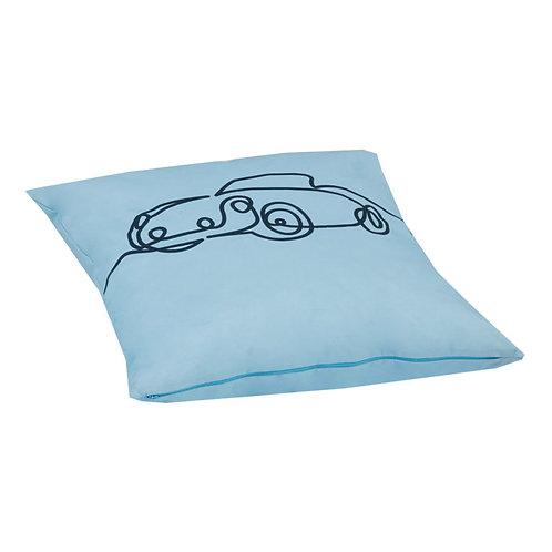 μακρόστενο μαξιλαράκι μπλε