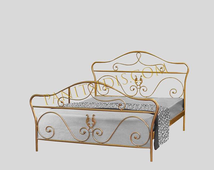 διπλό μεταλλικό κρεβάτι 150χ200