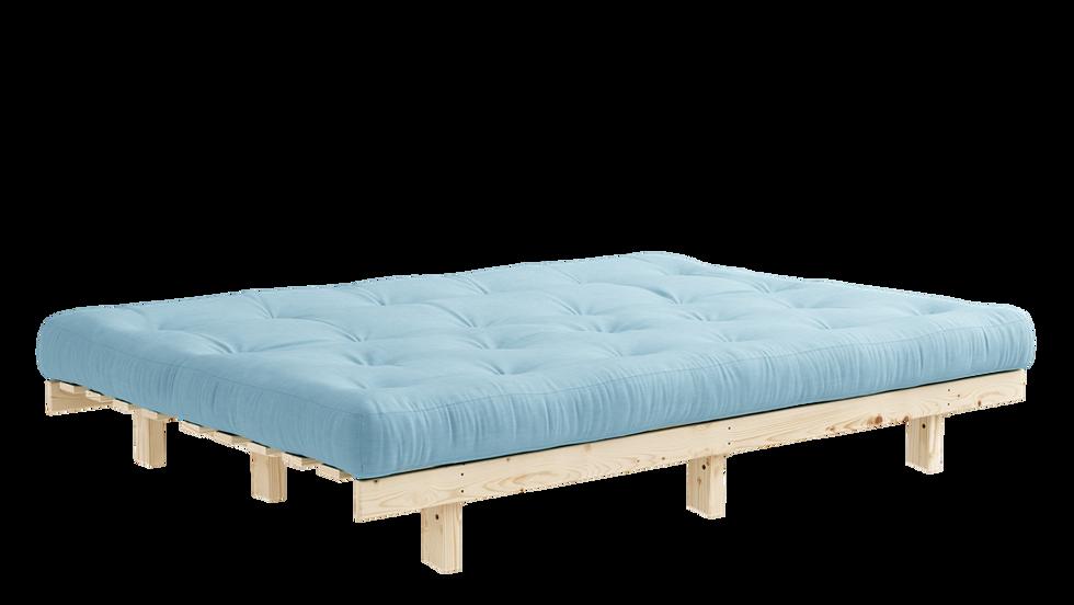 Ξύλινος καναπές κρεβάτι futon