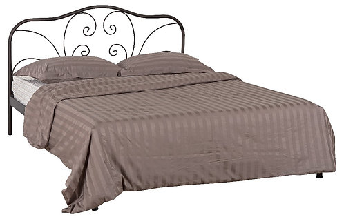 Syros 150 / διπλό μεταλλικό κρεβάτι