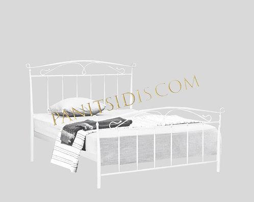 metal-iron double bed,diplo metalliko krevati,διπλό μεταλλικό κρεβάτι