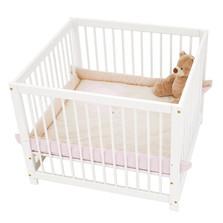 Playpen ξύλινο παρκάκι μωρού