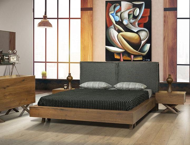 Σετ κρεβατοκάμαρας από μασίφ ξύλο
