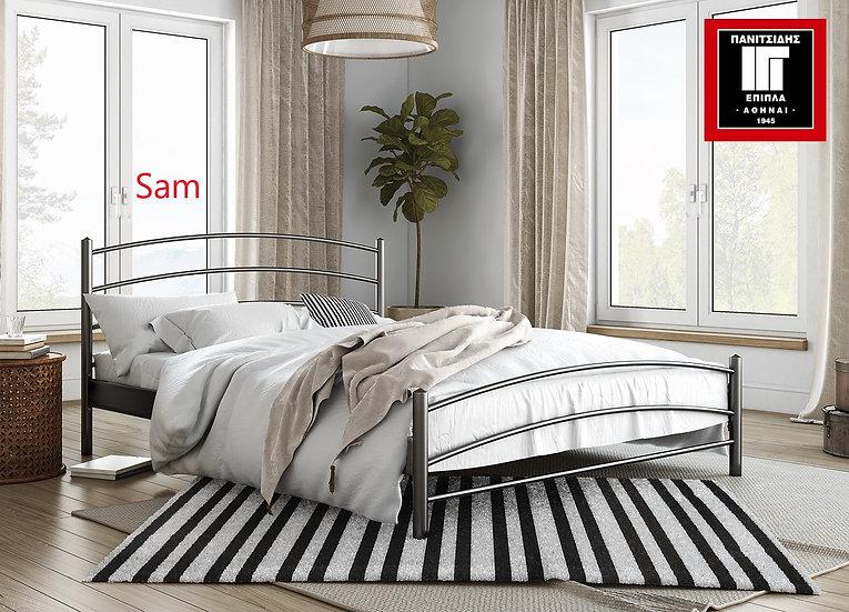 Mονόμεταλλικό κρεβάτι