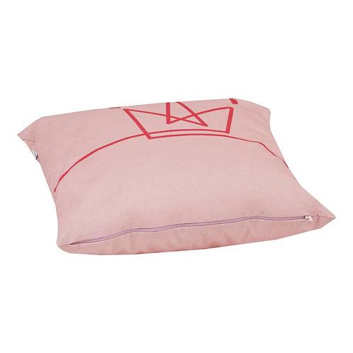 Παιδικό μαξιλάρι τετράγωνο ροζ