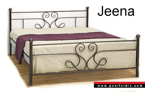 Μεταλλικό κρεβάτι μονό διπλό χειροποίητο