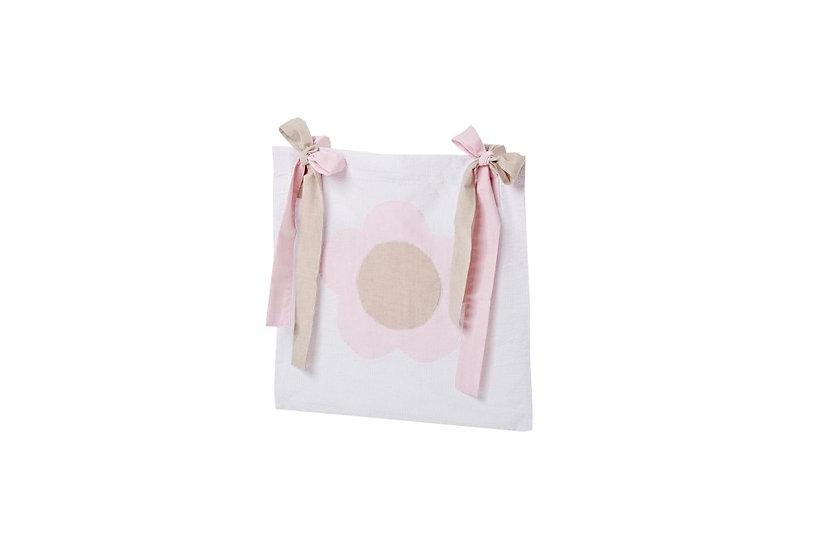 τσέπη κουκέτας ροζ ύφασμα