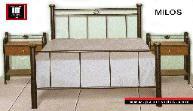 Milos / μεταλλικό κρεβάτι