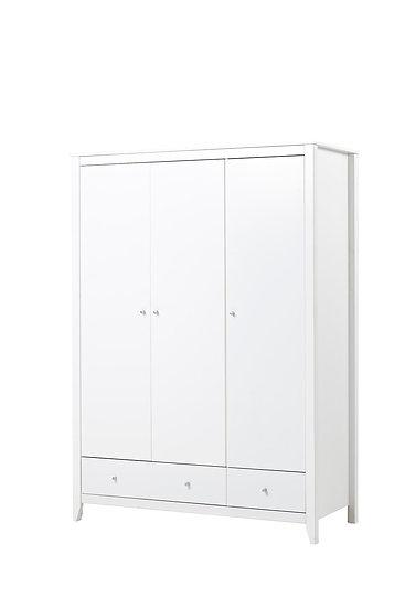 ξύλινη ντουλάπα παιδικού εφηβικού δωματίου με δύο πόρτες,xilines ntoulapes paidikes efivikes