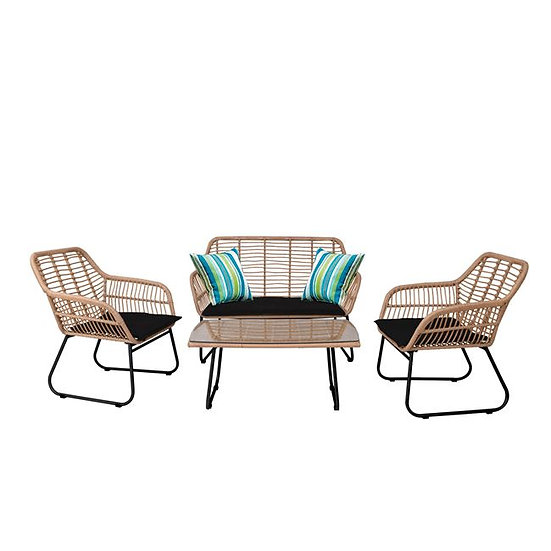 Σετ καθιστικού εξωτερικού χώρου βεράντας-κήπου