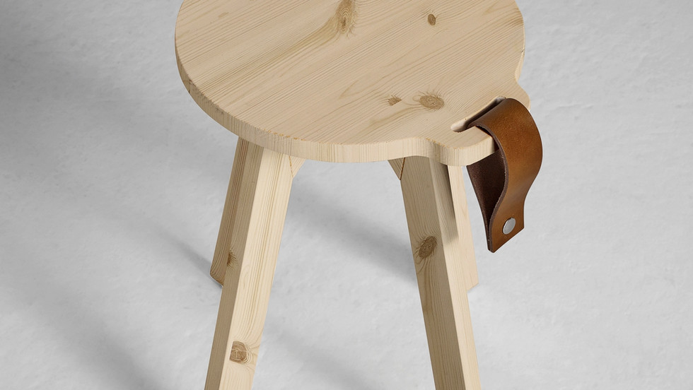 stool-table wooden τραπεζάκι-σκαμπώ