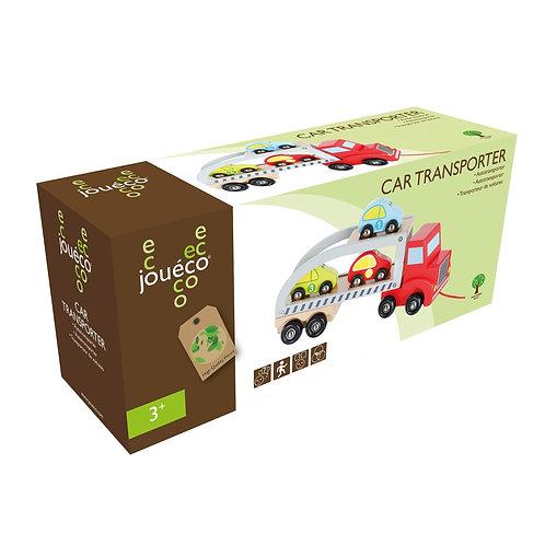Φορτηγό μεταφοράς οχημάτων ξύλινο παιχνίδι
