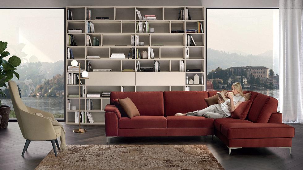 Καναπές Γωνία Ιταλικός - Κρεβάτι