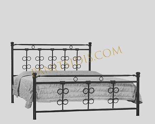 VICTORIA METAL-IRON BED FOR HOTELS-AIRBNB /  ΜΕΤΑΛΛΙΚΑ ΚΡΕΒΑΤΙΑ ΓΙΑ AIRBNB, HOTELS