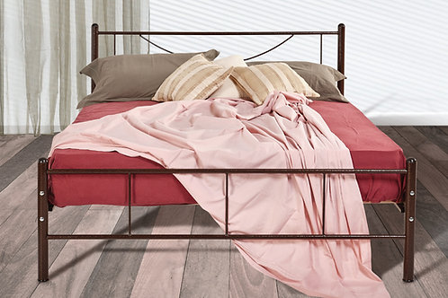 Οικονομικό set Κρεβάτι σιδερένιο με στρώμα μονό